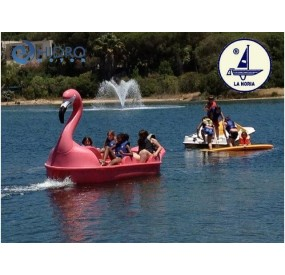 The Large Flamingo Hydro-pedalo