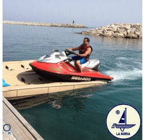 Nouvelle plateforme flottante new flotajet