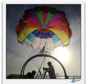 parasailing activities on lanoria.net