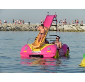 pedal boats La Noria hydrobeetle