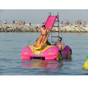 barco a pedale Hidrobeetle
