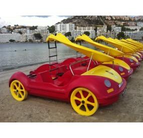 Hidropedales modelo hidrobeetle de La Noria