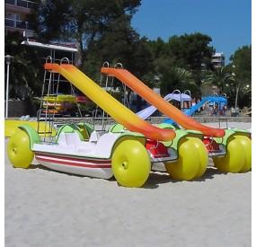 hidropedal coche
