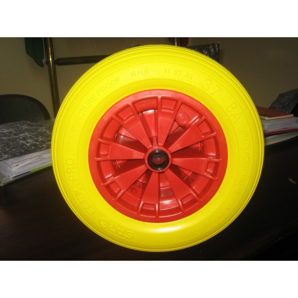 solid pedal wheels