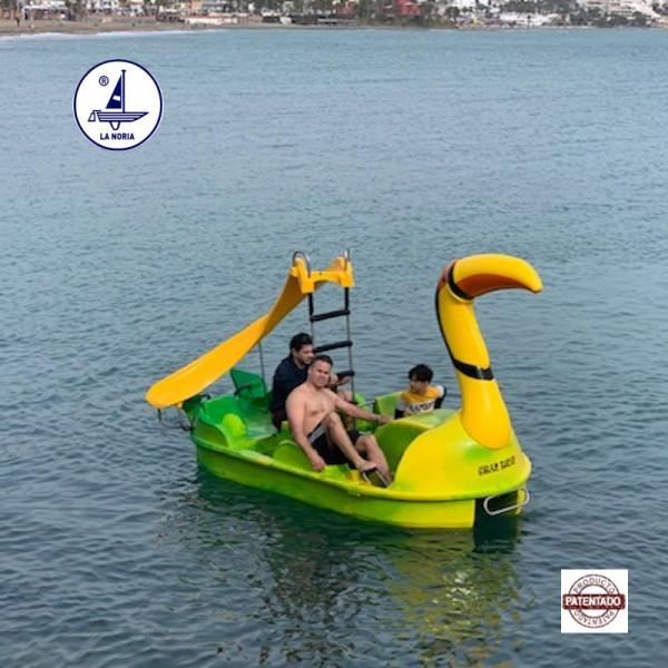 Pedal boat in Spain