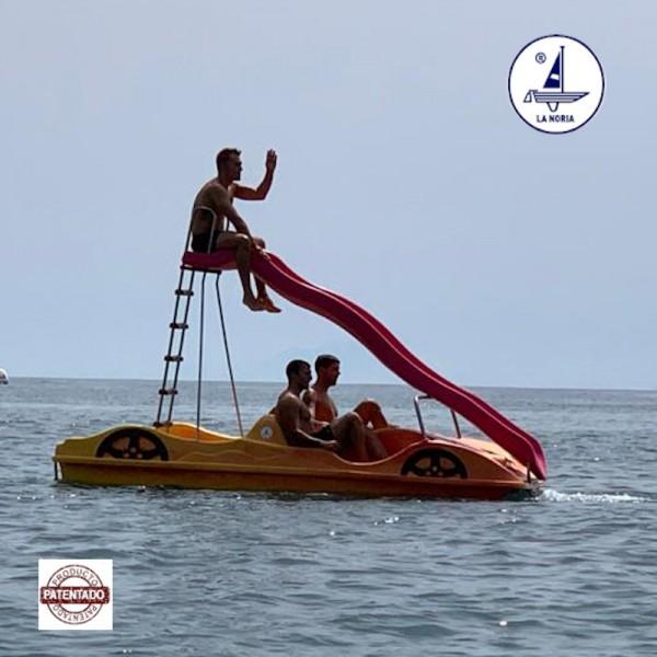 4-Sitzer Tretboot