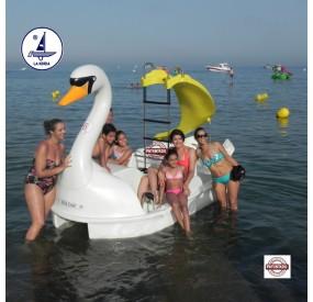 bateau à pédales Great Swan