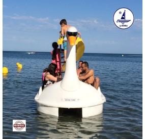 fabricant de bateaux à pédales Great Swan