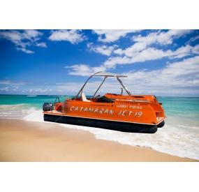 embarcacion catamaran