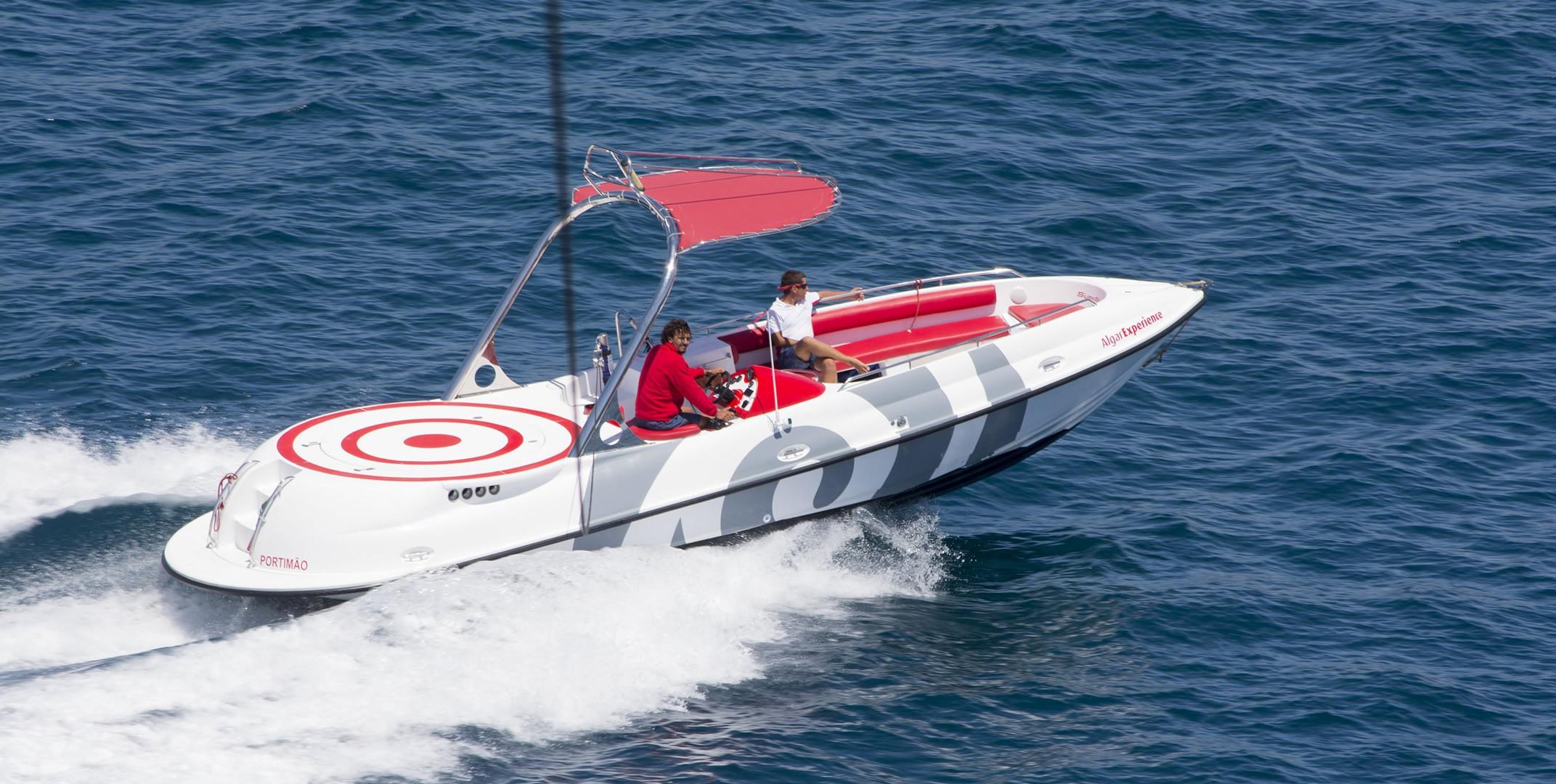 Embarcaciones parasailing